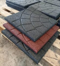 Rubber Tiles (Turtle Shell)