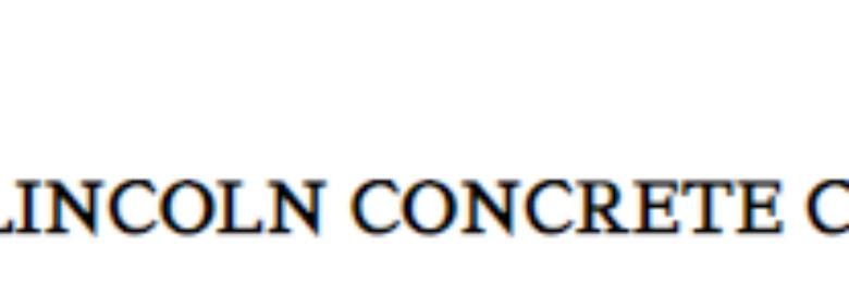 Lincoln Concrete Co
