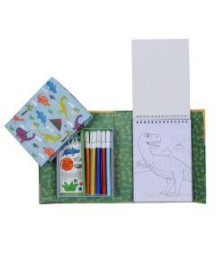 Colouring Set - Dinosaurs