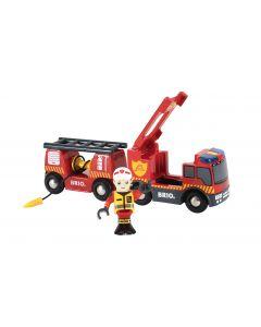 BRIO Vehicle - Emergency Fire Engine- 3 pieces