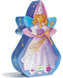 Djeco Fairy and Unicorn Puzzle 36pc
