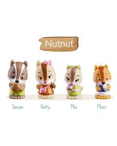 The Klorofil Nutnut Family Set of 4