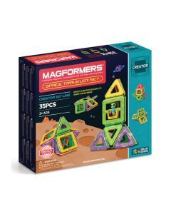 Magformers Space Traveller Set - 35 Pices