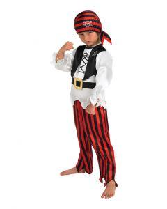 Pirate Boy Child Costume - size m