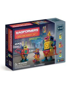 Genuine MAGFORMERS - Walking Robot - Hi Tech line - 45 Pcs