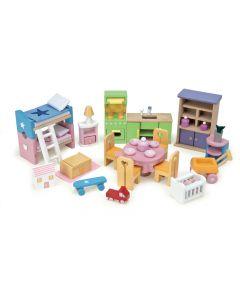 Le Toy Van Dollshouse Starter Furniture Pack