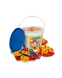 Mobilo Large Bucket with 234 Pieces