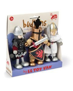 Le Toy Van Budkins Knights Triple Pack