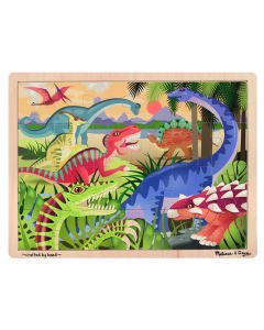 Melissa and Doug Dinosaurs Jigsaw - 24pc
