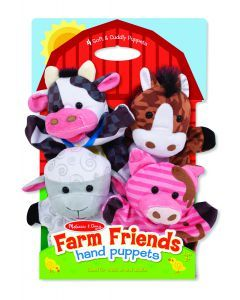 Melissa and Doug Hand Animal Puppets – Farm