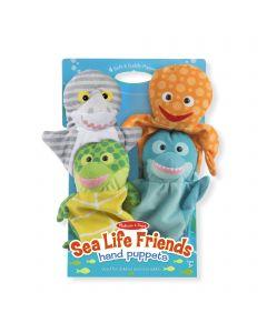 Melissa and Doug Hand Animal Puppets – Sealife Set of 4