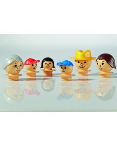 Mobilo Construction Toy Family figures - Light
