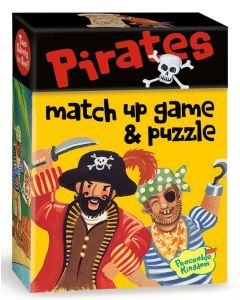 Peaceable Kingdom - Match-up game - Pirates