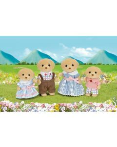 Sylvanian Families - Yellow Labrador Family