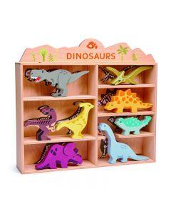 Tender Leaf Wooden Dinousaur Set