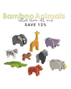 EverEarth Bamboo Animals