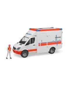 Bruder Mercedes Sprinter Ambulance with Driver