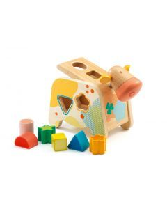 Djeco Maggy Shape Sorting Cow