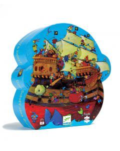 Djeco Barbarossa Boat Puzzle 54 pieces