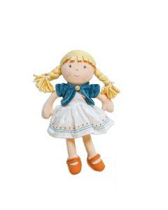 Lily Blonde Hair Organic Doll