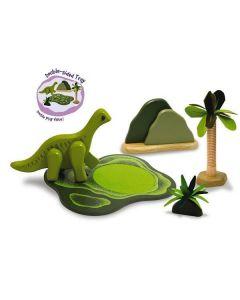Dinosaur Brachiosaurus Green Set