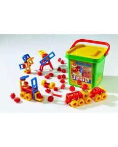 Mobilo Junior Bucket - 106 Pieces