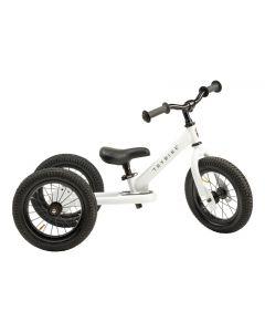 Trybike White, Black Seat & Grips