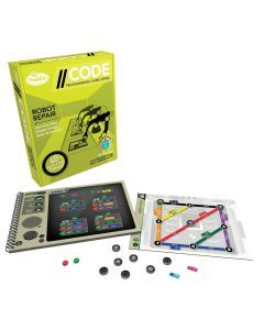 ThinkFun - //CODE: Robot Repair Game