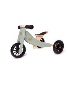 [PreOrder] Kinderfeets Tiny Tot Trike - Sage Green - ETA 30th October
