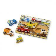 Melissa and Doug Construction Chunky Puzzle