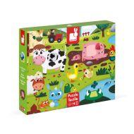 Janod - Farm Tactile Puzzle