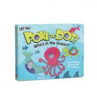 Melissa and Doug Poke-A-Dot - Who's in the Ocean Book