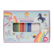 Unicorn Sticker World by TigerTribe