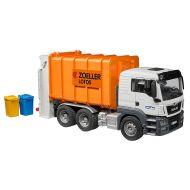 Bruder Orange MAN TGS Rear Loading Garbage Truck