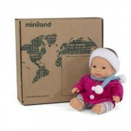 Miniland Asian Girl and Outfit Boxed, 21 cm Naked