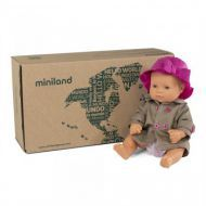 Miniland Caucasian Girl 32cm with Outfit - Boxed