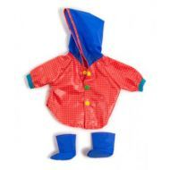 Miniland Clothing Raincoat & Wellingtons, 38-42 cm
