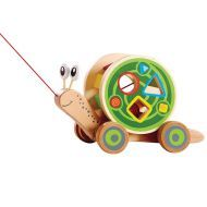 Hape Snail Pull and Play ShapeSorter