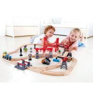 Hape Busy City Rail Set 51 Pieces