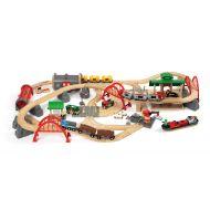 Brio Train Set - Deluxe Railway Set- 87 pieces