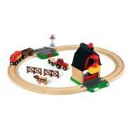 Brio Train Set - Farm Railway Set- 20 pieces