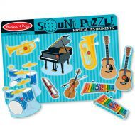 Melissa and Doug Musical Instruments Sound Puzzle - 8pc