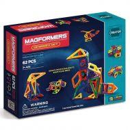Genuine MAGFORMERS - Designer Set - Creator line - 62 Pcs