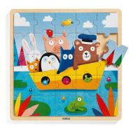 Boat Wooden Puzzle