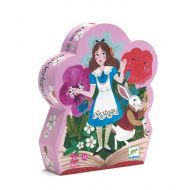Alice in Wonderland 50pc Silhouette Puzzle