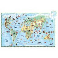 Djeco Animals of the World Discovery Puzzle 100pcs