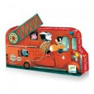 Djeco Fire Truck Puzzle 16pc