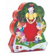 Djeco Snow White Puzzle 50pc