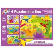 Galt Four puzzles in a box Dinosaurs