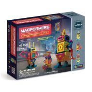 Genuine MAGFORMERS - Walking Robot - Hi Tech line - 45 Pcs